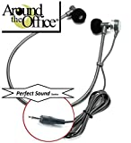 Around The Office Perfect-Sound Transcription Headset Designed to fit Sony Model M-2020 Transcriber