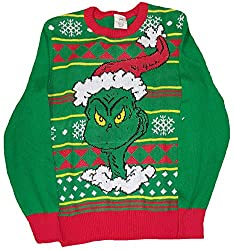 Grinning Grinch Sweater