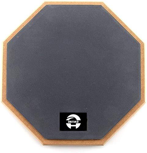 Rubber Practice Pad Dumb Pad 2-Sided Beginner Silent Drum...