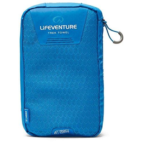 Lifeventure softfibre Trek Asciugamano-Giant-Blu