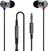 SoundMAGIC E10 Noise Isolating in-Ear Earphones Wired Earbud Headphone Powerful Bass Compatible with iOS Android Windows P...