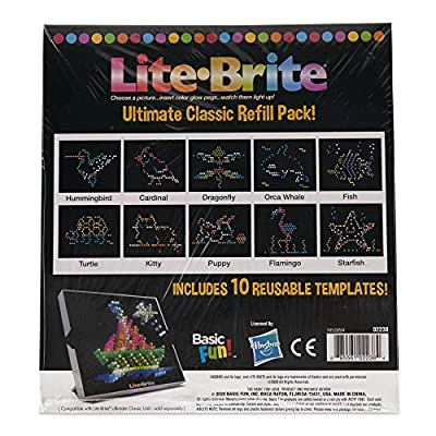 Lite-Brite Peg from
