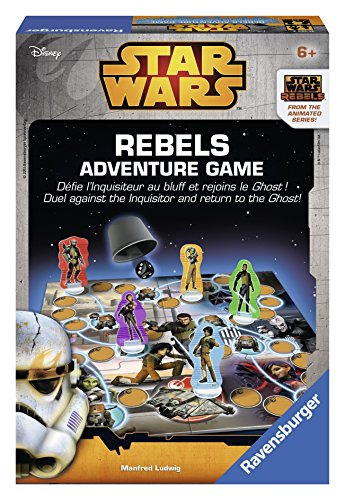 Ravensburger - 21143 - Jeu d'action Et De Réflexe - Star Wars - Rebels Adventure Games