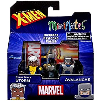 Marvel Minimates Series 60 Uncanny X-Men Strike Force Wolverine Forge /& Blob