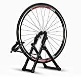 mefetop Wheel Truing Stand Simple Convenient Bike Truing Stand, Home DIY Bicycle Repair Maintenance Support Tool Accessory for 16 inches - 29 inches 7 00C Wheels