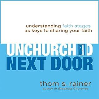 The Unchurched Next Door audiobook cover art