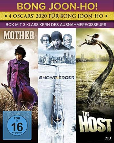 Bong Joon-ho! - Box mit seinen 3 Klassikern The Host, Mother und Snowpiercer [Blu-ray]