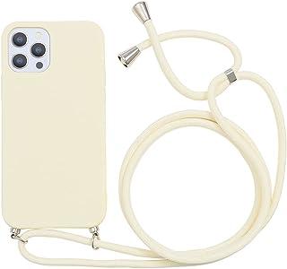 Yoedge Crossbody Case voor Huawei P50 (4G) [6.3 inch] - Zachte siliconen hoes met nekkoord Lanyard Strap - Schokbestendig ...