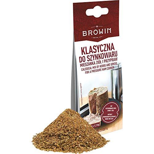 Browin Traditionelle Kräuter-Gewürzmischung für den Schinkenkocher und hausgemachte Wurstwaren, 30 g