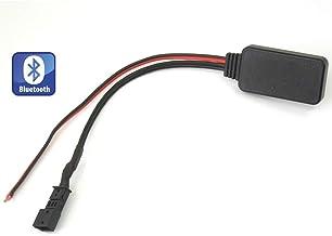 Adaptador Bluetooth para coche para BMW X5 E39 E53 E38 5 Series, interfaz de música AUX estéreo para coche inalámbrico para BMW M5 525 530 540, E46 con gran pantalla estéreo host (16:9) 2002-2006