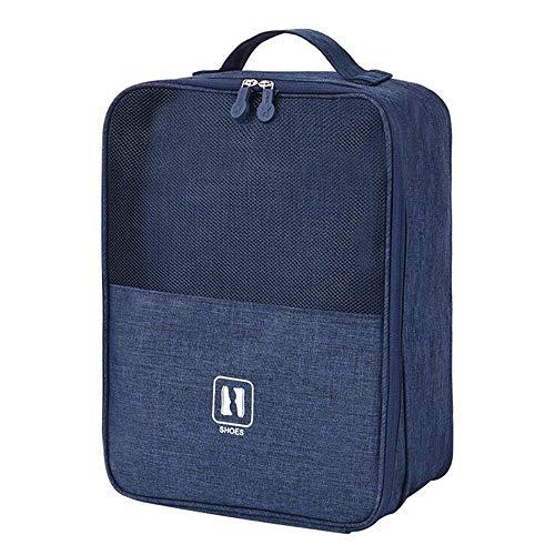 Schuhbeutel Reise, Schuhauf bewahrungs Beutel, Golf Schuhtasche, kombinierbar mit einem Koffer, tragbare wasserdichte Schuhtaschen mit Reißverschluss