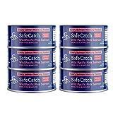 Safe Catch Wild Pink Salmon – 5 oz Cans (No Salt Added)
