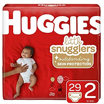 Huggies Little Snugglers Baby Diapers Size 2 29 Ct