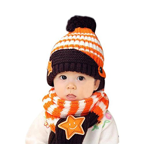 Babybekleidung Hüte & Mützen Longra Winter Herbst Mode Art Baby Kinder jungen...