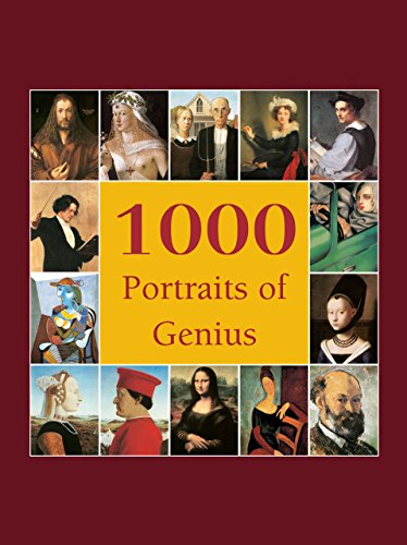 1000 Portraits of Genius (Book Collection) (English Edition)