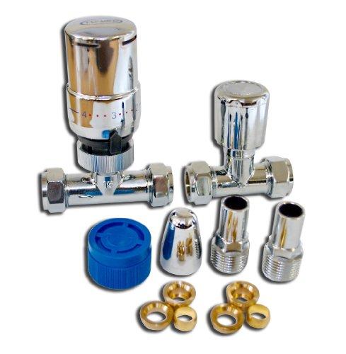 Tower TRVPACKSTCH - Válvula de desviación para bañeras y duchas (tamaño: 10-15 mm)
