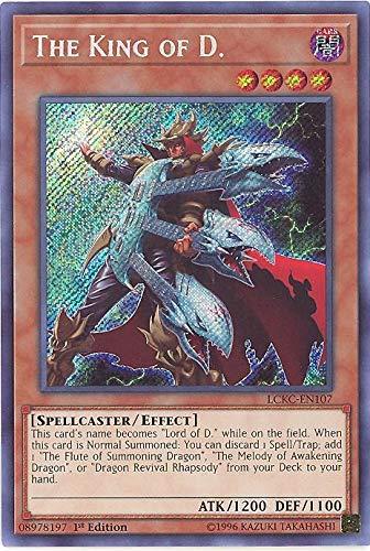 yu-gi-oh The King of D. - LCKC-EN107 - Secret Rare - 1st Edition - Legendary Collection Kaiba Mega Pack (1st Edition)