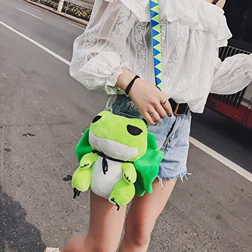 Pluche Speelgoed Reizen Kikker Anime Pluche Schoudertas Leuke Cartoon School Tas Pluche Dier Pop Kinderen Speelgoed Kinderen Meisjes Kinderen Geschenken