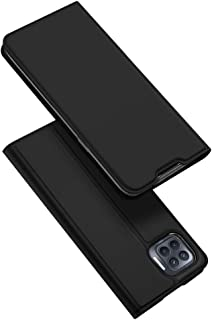 MJGOGO PU TPU Flip Case with Card Slot and Stand Function Compatible for OPPO F17 Pro/OPPO A93/OPPO Reno4 F/OPPO Reno4 Lit...