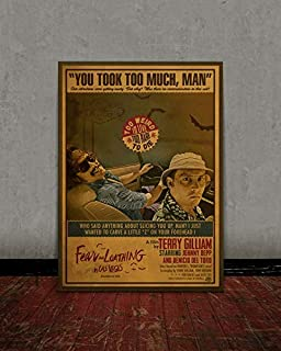 MugKD LLC Fear and Loathing in Las Vegas Movies Poster Gifts for Fan [No Framed] Poster Home Art Wall Posters