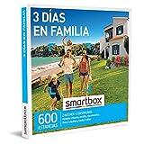 Smartbox - Caja Regalo para Hombres - 3 días en Familia - Caja Regalo para Hombres - 2 Noches con Desayuno para 2 Adultos y hasta 2 niños