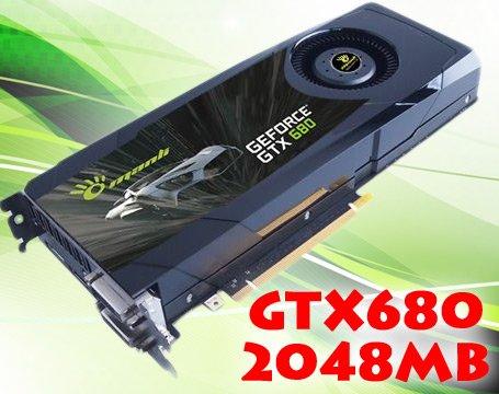 GTX 680 KEPLER Grafikkarte GeForce GTX680 2048MB 2GB PCI-Express 3.0 PCIe Gamer Manli