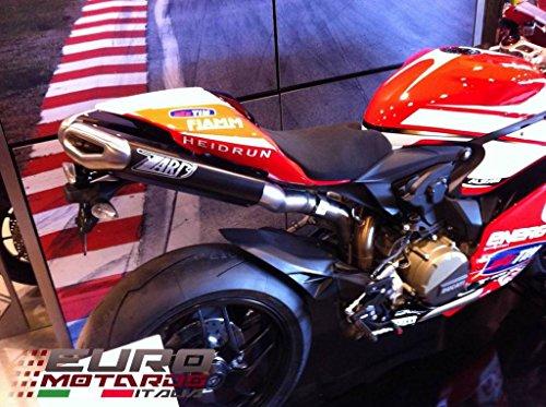 Ducati 1199 Panigale Zard Impianto Scarico Completo + Codone & Terminali Penta +20CV System Exhaust