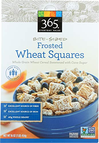 365 Everyday Value, Frosted Bite Sized Wheat Squares, 16 oz