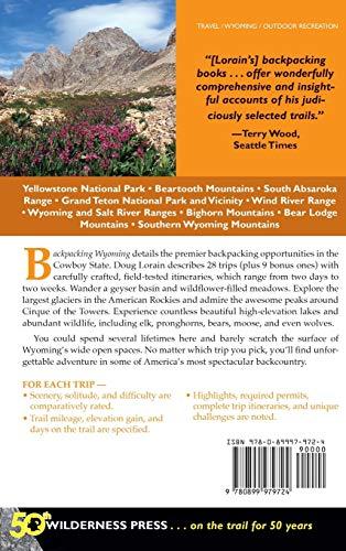 Backpacking Wyoming: From Towering Granite Peaks to Steaming Geyser Ba... - 51B0tnrXKYL