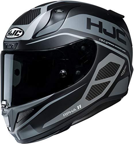 Motorradhelm HJC RPHA 11 SARAVO MC5SF, Schwarz/Anthracite, L