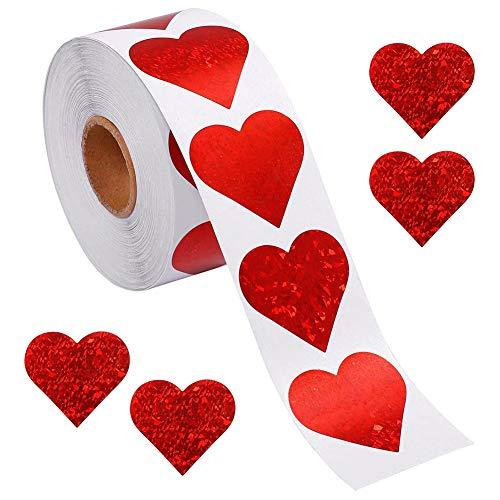 Roll Stickers, 500pcs / Roll Love