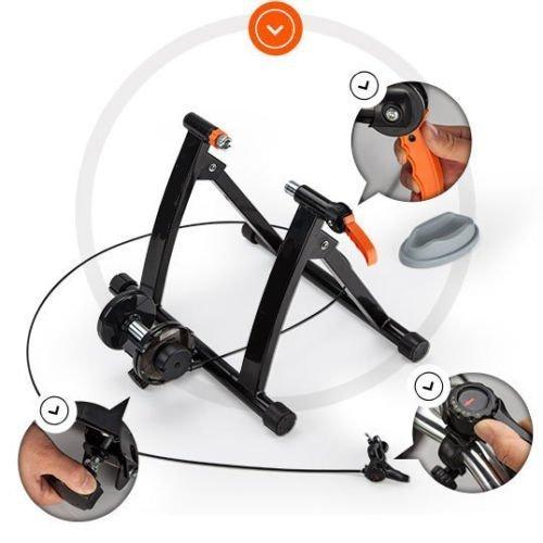 BOUDECH Rullo Allenamento RULLI Bici Bicicletta Bike...