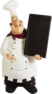 KiaoTime 98915HB Italian Chef Figurines Kitchen