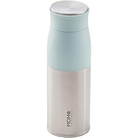 MOMO CONCEPT(モモコンセプト)水筒 真空断熱 軽量 ルピナスタンブラー 400ml ブルー 01002-29009