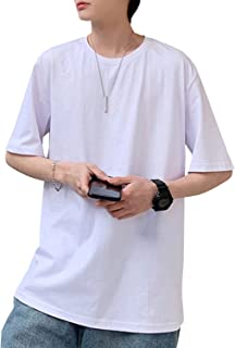 J.STORE [ジェイストア] メンズ シャツ カットソー Tシャツ クルーネック 半袖 無地 シンプル 大きい S~2XL