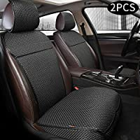 Auto Newer Luxury Universal Four Seasons Front Set of Car Seat Cover and Cushions