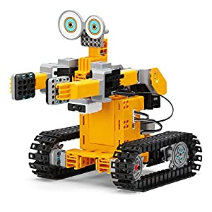 UBTECH JIMU Robot Tankbot App Enabled Stem Learning Robotic Building Block Kit (2016) - 51B0xxylgFL - UBTECH JIMU Robot Tankbot App Enabled Stem Learning Robotic Building Block Kit (2016)