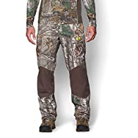 Under Armour Coldgear Infrared Scent Control Barrier Pant - Men's Realtree Ap Xtra / Velocity Large