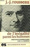 Discours sur l'Origine et les Fondements de l'Inegalite Parmi les Hommes - Editions Sociales