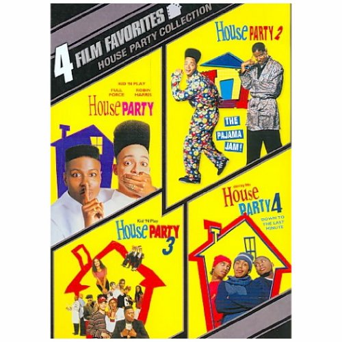 4 FILM FAVORITES: HOUSE PARTY - 4 FILM FAVORITES: HOUSE PARTY (2 DVD)