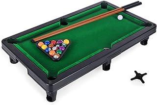 JoyhundridAE Mini Foldable Pool Table Portable Billiard Table With Cues Balls Best Children Boy Girls Kids Sports Game Toy