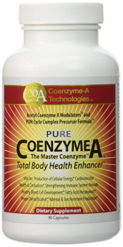 Coenzyme-A Technologies 1000 mg, Pack of 90 Capsules