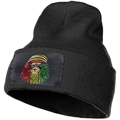 Sombrero de Punto Rasta Reggae Rastafarian Gorros Tejidos de...