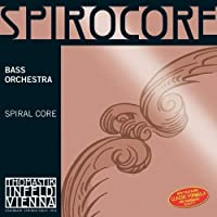 Thomastik-Infeld S38W Spirocore Double Bass String Single A String Weich (Light) 4/4 Size Steel Core Chrome Wound [並行輸入品]