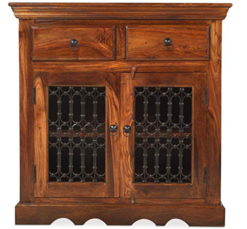 Jali Sheesham Small Sideboard - Furniture