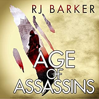 Age of Assassins     The Wounded Kingdom, Book 1              By:                                                                                                                                 RJ Barker                               Narrated by:                                                                                                                                 Joe Jameson                      Length: 13 hrs and 2 mins     168 ratings     Overall 4.4