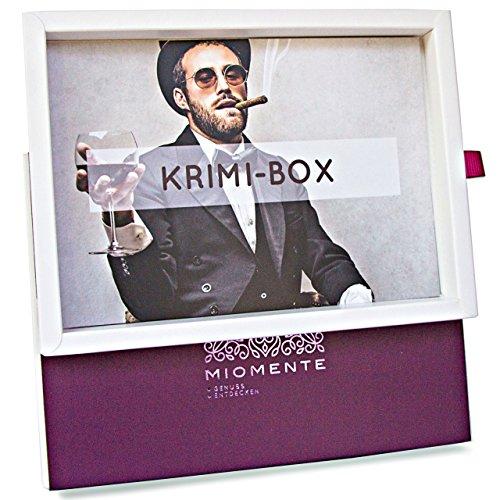 Miomente KRIMI-DINNER Box: Gutschein für 1 Krimidinner | DAS Erlebnisgeschenk für Krimifans |Geschenk-Idee Geschenkgutschein