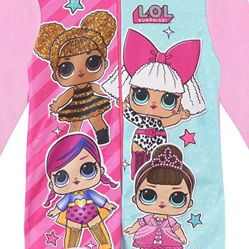 L.O.L. Surprise! Pijama Entera para Niñas [Multicolor -6-7 Años ]