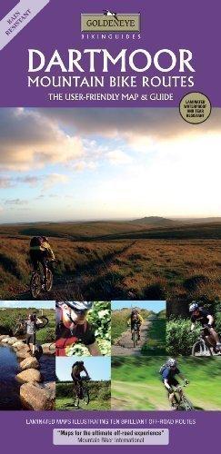 Dartmoor Mountain Bike Routes (Goldeneye Bikinguides) by Al Churcher 2nd (second) Revised Edition (2010)