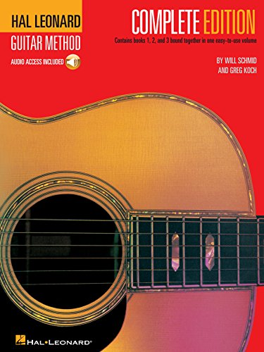 Hal Leonard Guitar Method, - Complete Edition: Books 1, 2 and 3 ...